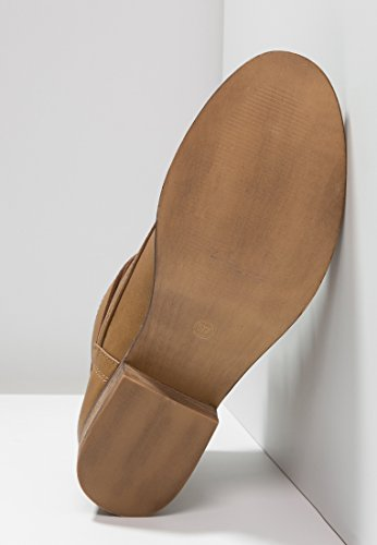 Elegantes Botas Cordones con Cortas – Sin Mujer Mujer de Tacón Botines de Para Coñac amp;ODD Coñac Botas Negro Mujer Marrón Cómodas Imitación Botas o EN de Even Cuero y Para gZwSq6x