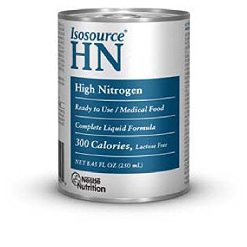 Isosource HN High Nitrogen Complete Liquid Formula, 24 - 8.45 oz, Pack of (Isosource Complete Liquid Formula)