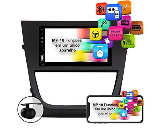 Central Multimidia Gol G5 MP10.1 Voolt C/Moldura USB, SD Espelhamento Android e IOS