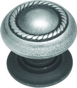 Belwith 1-1/2 In. Rope Braid English Antique Cabinet Knob