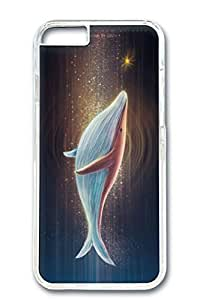 iPhone 6 Plus Case, Protective Slim Hard PC Clear Case Cover for Apple iPhone 6 Plus(5.5 inch)- Dolphin