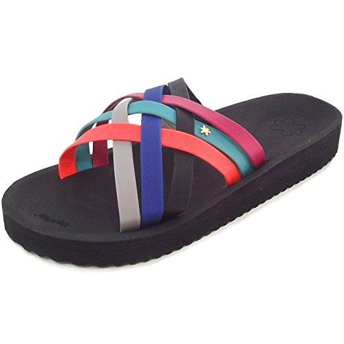 Flip Flop Women's Heaven Open Sandals schwarz/mehrfarbig (multi) mb61P