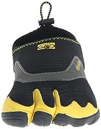 Body Glove Men\'s 3T Cinch Water Shoe, Black/Yellow, 11 M US