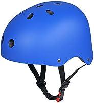 Upgraded SymbolLife Skate/Skateboarding Helmet, Ultimate Adjustable ABS Shell Helmet for Cycling/Skateboard/Sk
