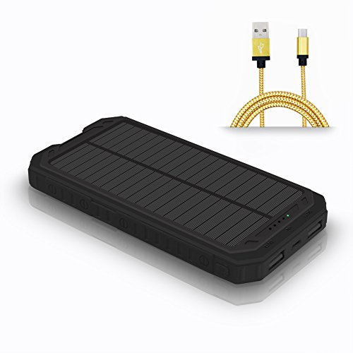 Ultralight Backpacking Solar Charger - 4