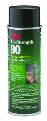 21200300233-709.7 mL (24 oz.) - Hi-Strength 90 Spray Adhesive, 3M Industrial - Case of 12