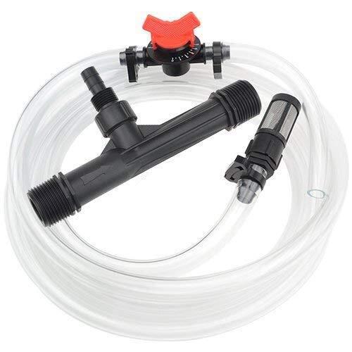 XLX 1 Garden Irrigation Venturi Fertilizer Injector Venturi System Irrigation DeviceFilter Straw Water Tube Kit (1)