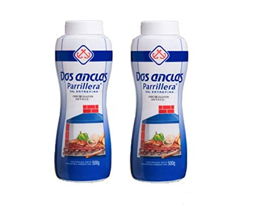 Dos Anclas Sal Parrillera 2 Pack | Grilling and BBQ Salt 17.64 Oz (1.1 LB) (Best Barbecues For Sale)