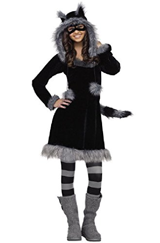 8eighteen Sweet Raccoon Teen Halloween Costume (2)