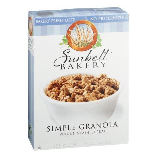 Sunbelt Bakery Cereal Simple Granola