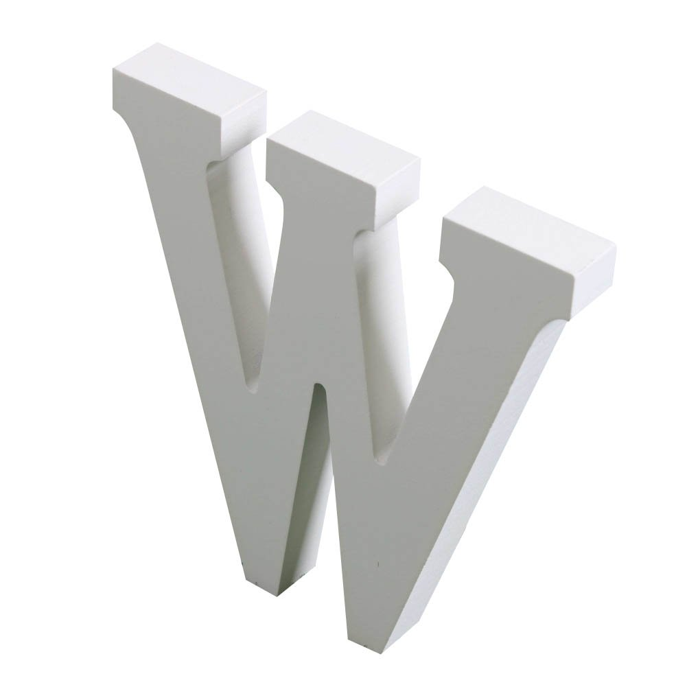 Messagee Small DIY Wooden Alphabet Letters Plaque Wall Decorate Children Education Brithday Party Anniversary,B