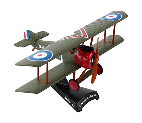 Postage Stamp Planes - Daron Postage Stamp Sopwith Camel Vehicle (1/63 Scale)