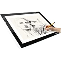 Litup A4 Size Light Box 17.7 Inch Bright Light Pad Tracing Light Box Drawing Light Board for Animation—LP4