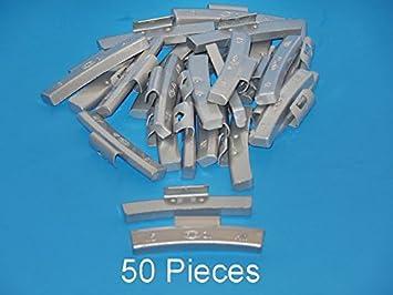 50 Pcs ZINC CLIP-ON WHEEL WEIGHT BALANCE 1.25 1-1//4 AW1.25