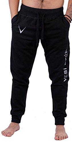 Vesi Star Men's Rival Fleece Jogger Pants (Small, Black M Jogger)