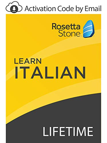 Rosetta Stone: Learn Italian with Lifetime Access on iOS, Android, PC, and Mac [Activation Code by Email]