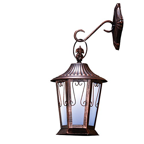 Solar Antique Coach Lantern Multi Colored