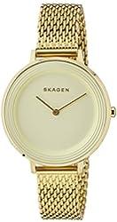 Skagen Women's SKW2333 Analog Display Analog Quartz Gold Watch