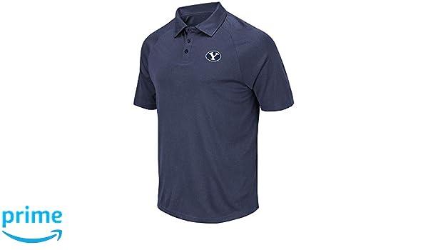 Mens BYU Brigham Young Cougars Wellington Polo Shirt