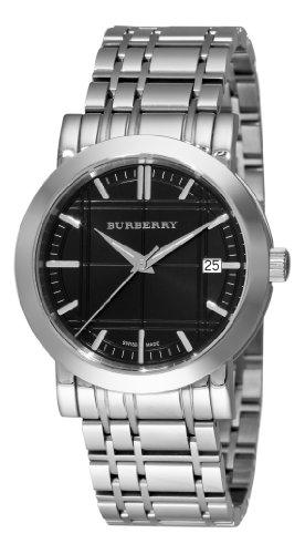 Burberry Men's BU1364 Heritage Black Dial Bracelet Watch