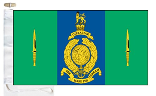 3 Commando Brigade Royal Marines Courtesy Boat Flag - 1 Yard