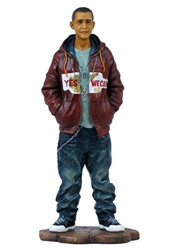 8.25 Inch Hip Hop Obama African American with Hand in Pocket Figure (Barack Obama Figure compare prices)