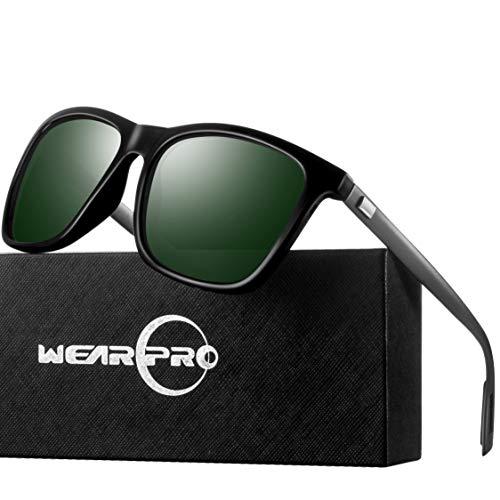 Sunglasses for Men Polarized Vintage Men`s Sun Glasses WP1003 ()