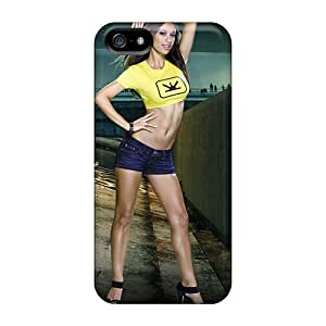 Fashionable XjX9322wBcH Iphone 5/5s Cases Covers For Blur Game Maxim Girl Protective Cases