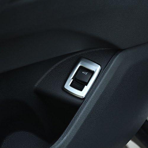 para X2 F47 2018 2019 Auto accesorios 2019 YIWANG ABS cubierta de bot/ón de interruptor de puerta trasera cromada para X1 F48 2016