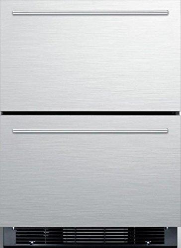 Summit Sprf2d5im Built In Drawer Refrigerator  Stainless Steel