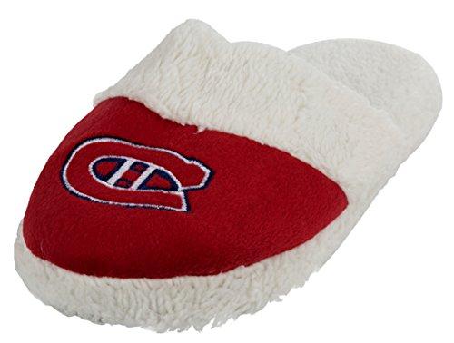 Nhl Kvinna Sherpa Glid Tofflor Montreal Canadiens