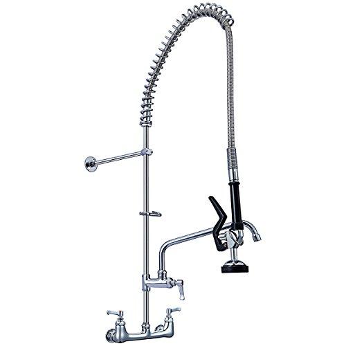 8 inch wall faucet 12 swivel - 4