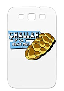 Challah YMJA Religion Philosophy Judaism Orange Case For Sumsang Galaxy S3