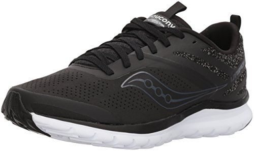 Saucony Women's Black Running Miles Shoe Liteform p4wxarp