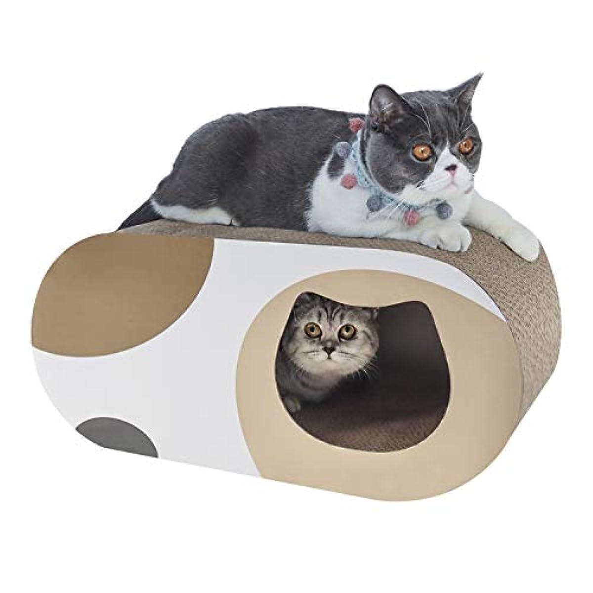 [해외] ComSaf 고양이 골판지 스크래쳐 하우스