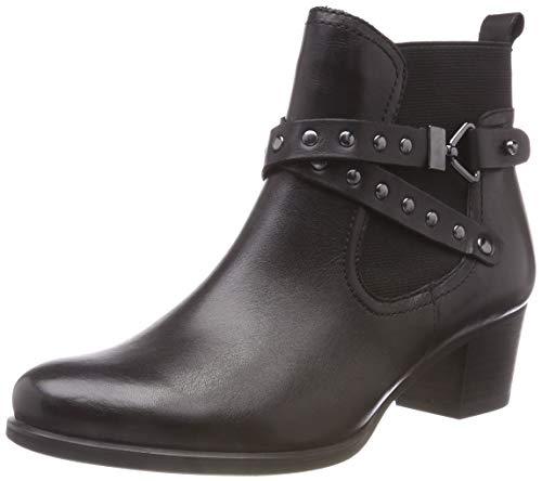 Boots Chelsea Donne 022 Nera Neri 25322 Caprice 21 9 Delle 22 nappa 9 d8np0Tgqq