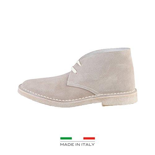 Woz MADRID_TORTORA Damenschuhe Stiefel Boots Stiefeletten, beige
