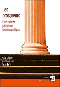 Book's Cover of Les procureurs de la République (Français) Broché – 3 juillet 2010