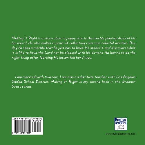 Making It Right: Greener Grass Volume 2