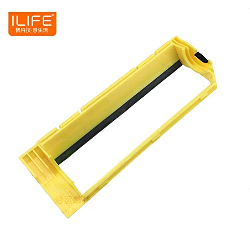 HBK Original Main roll Middle Brush Cover for ILIFE T4 X430 X432 A4 A4s x431 A40 Polaris Vacuum Robot Cleaner Parts Accessories