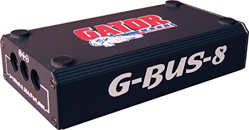 Gator Pedal Board Power Supply (G-BUS-8-US) by Gator