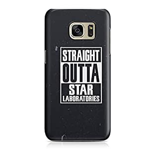 Samsung S7 Edge Case Straight Outa Star Laboratories Metal Plate Light Weight Samsung S7 Edge Cover Wrap Around