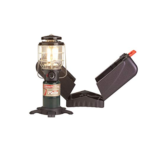 Lantern Coleman Light - Coleman Propane Gas Lantern with Case | NorthStar 1500 Lumens Lantern for Camping & Outdoor Use