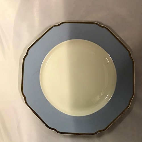 Celine Collection 49 pcs Octagon Shape Dinner Set, Service for 8 person, Baby Blue (G1636D) by SMCS