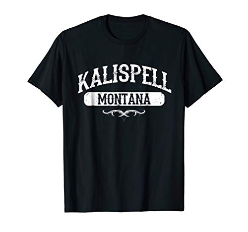 Used, Kalispell Montana T Shirt for sale  Delivered anywhere in USA