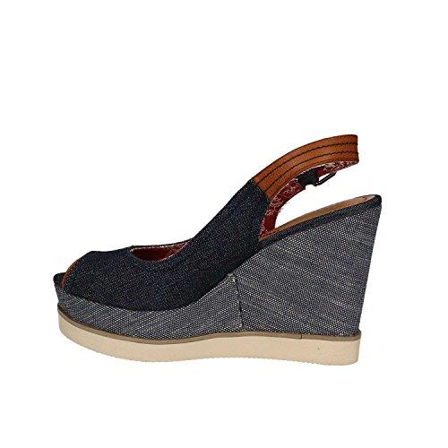 Wrangler WL171682 Zapatos De Cuña Mujer BLUE 41