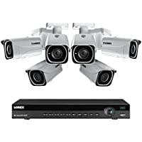 Lorex 8 Channel NR9082 4K Home Security System with 6 8MP 4K LNB8111B Bullet Cameras + FLIR 2-Year Warranty
