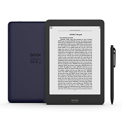 BOOX Nova Pro 7.8 E-Reader, Front Light, Flush Glass Screen, 2G 32G Support Upgrade to Android 9.0 Soon