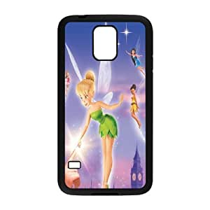 Disney Tinker Bell Clear Hard Case Cover Gold Color For Samsung Galaxy S5 GHLR-T410031