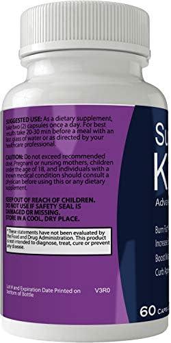 Supercut Keto Diet Pills Weight Loss Support Pill, BHB Burn Fat Supplement Pill, 800 mg Formula with New True Slim GO BHB Salts Formula, Advanced Appetite Suppressant Capsules … 4